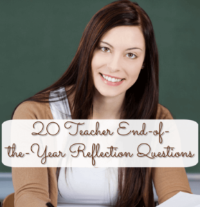 We always encourage students to answer reflection questions at the end of the year, but what about teachers? We should be doing the same! Self-reflection is an important tool that we need to use to reflect on what went well throughout the past school year and what needs to be improved for the next one. This blog post contains a list of 20 end-of-year reflection questions for teachers, so click through to read them!