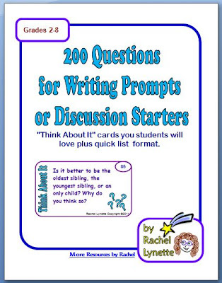 200 Questions for Writing Prompts or Discussion Starters