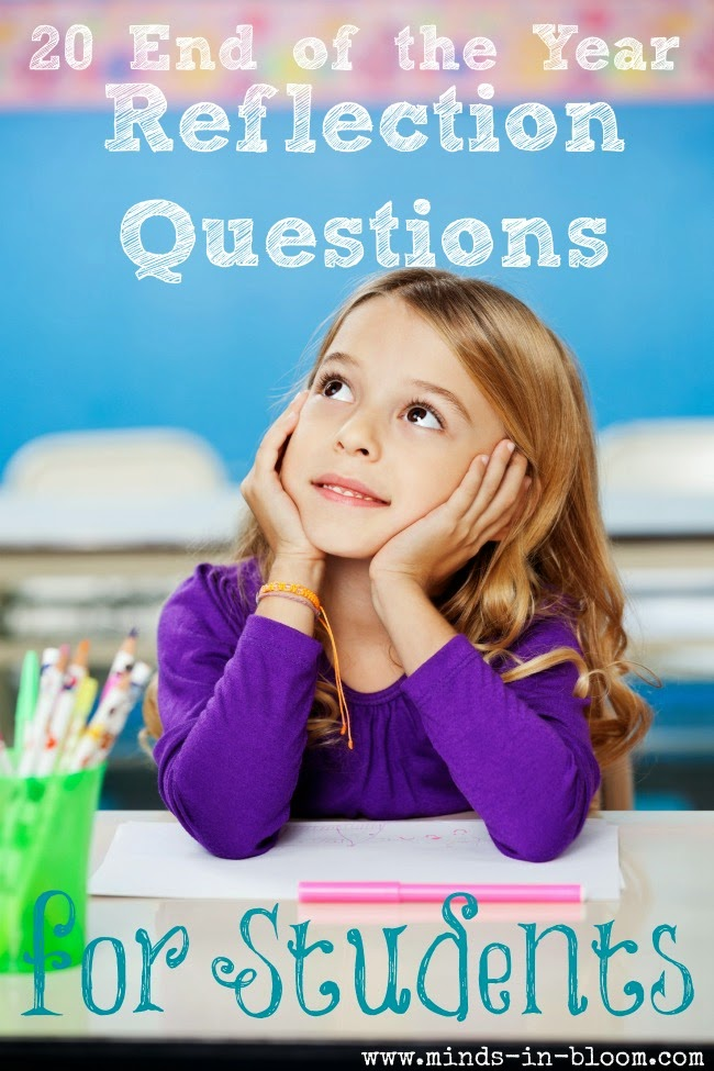 Check out this free list of end of the year reflection questions that you can use to get your students reflecting on how they grew this school year!
