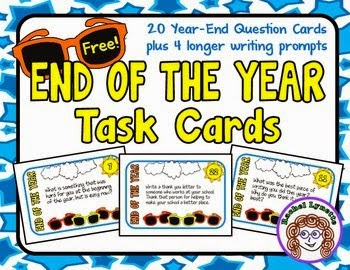 End of the Year Task Cards