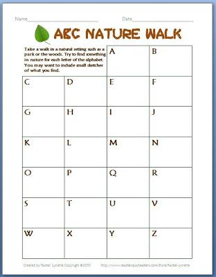 ABC Nature Walk