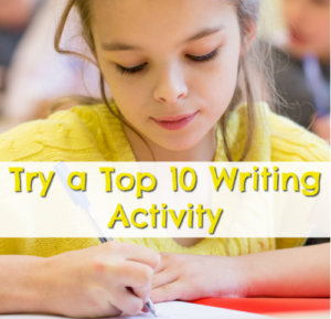 Try a Top Ten Writing Activity