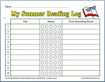 Slowing Summer Slide Reading on Winter Break Challenge Homework For