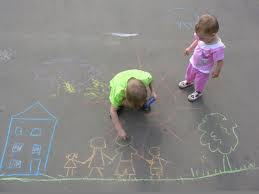 Sidewalk Chalk: Ten Fun Ideas!