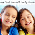 It may seem silly, but I think it's a great idea to incorporate some task card fun into your classroom with...sticky hands! These goofy tools can provide a way for kids to engage with task cards that's fun and calming for them. I explain how to use sticky games with task cards in this post, so click through to read about it!