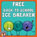 Back to School Ice Breakers FREE