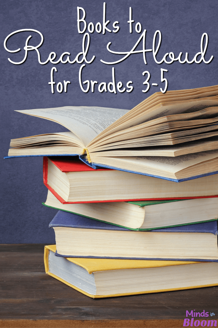 If you've been searching for ideas for books to read aloud to your class, then look no further. Minds in Bloom polled its Facebook followers and created a gigantic list of suggested books for read aloud to grades 3-5. There are some really fantastic books in this list!