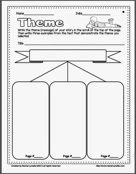 Theme Worksheets For 4Th Grade Free Worksheets Library | Download ...