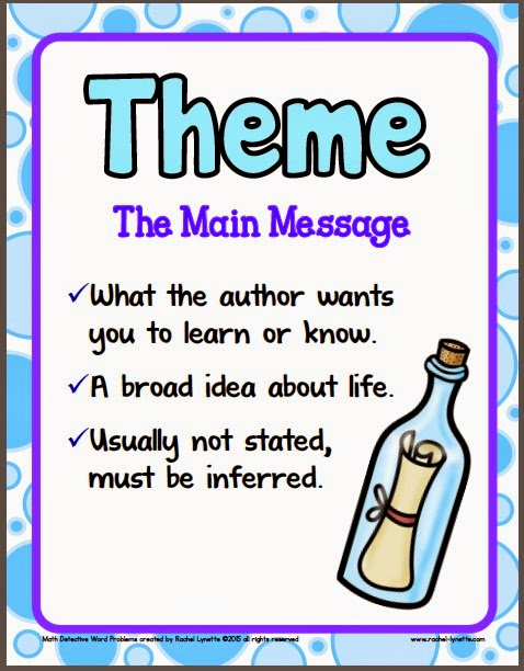 Ideas for Teaching Theme