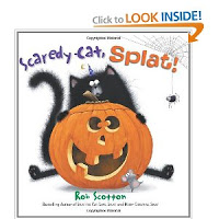 Scaredy-Cat, Splat! by Rob Scotton