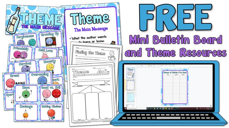 activities for teaching theme