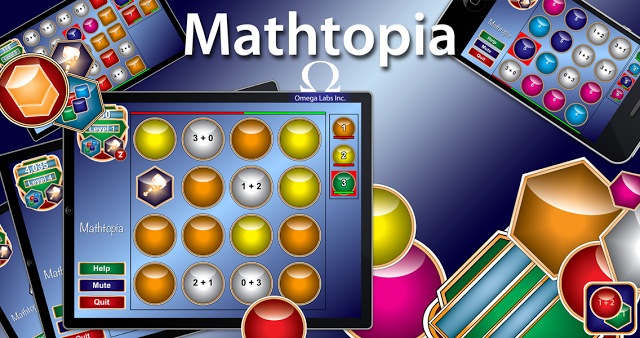 Mathtopia - Best Math Facts App Ever!