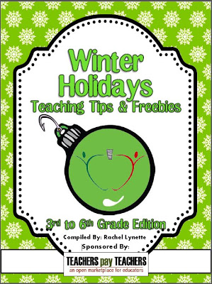 Rachel Lynette and 50 other TpT sellers came together to create these four ebooks that are chockfull of winter holidays tips and freebies! You can download these ebooks for free in Rachel's TpT store!
