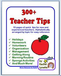 300+ Teacher Tips