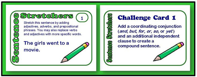 Do your students need  practice expanding their sentences? Rachel Lynette created three sets of task cards to help you how to do just that! These Super Sentences Task Cards teach students how to make their sentences more descriptive and interesting to read.
