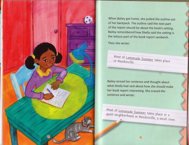 Sometimes a book or other text can help students better understand certain skills they need to learn in order to be successful in the classroom. This non-fiction book, Ben and Baily Build a Book Report, helps students learn how to correctly write a book report! Click through to learn more about how the book accomplishes this goal.