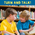 I'm sure that by now in your teaching career, you've heard of Think, Pair, Share. But have you heard of Turn and Talk? This is very similar to Think, Pair, Share, but its foundation is in brain-based research. Sally of Elementary Matters shares all about Turn and Talk in this guest post and shares a FREE poster that you can hang up in your classroom. Click through to read more and download the freebie!