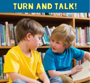 "Keep Your Students Engaged with ""Turn and Talk"""