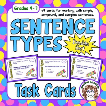 Sentence Types Task Cards Double Set