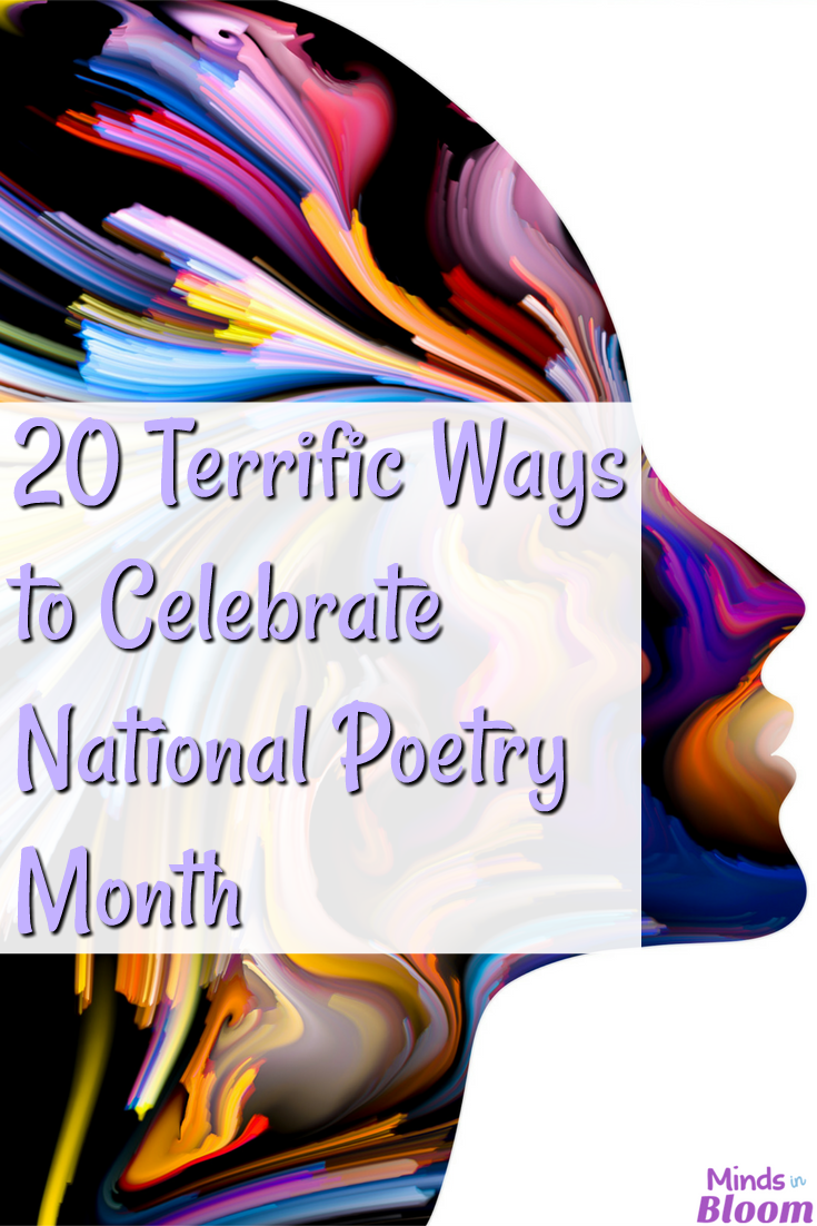 Looking for ways to celebrate National Poetry month with your class and to instill a love of poetry in your students? This post shares 20 ways to read, write, and enjoy poems during National Poetry Month! Click through to read all 20 ideas.