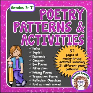 Poetry Patterns & Activities