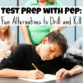 Test prep doesn't have to be - and shouldn't be - all about test prep booklets. This guest post on Minds in Bloom shares a few fun alternatives to drill and kill test prep practices, including the use of whiteboards, task cards, and games. Get all of the suggestions and how to implement them in this post!