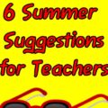 summer ideas for teachers