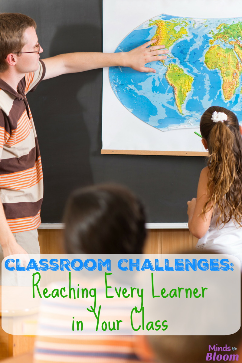 It seems like an impossible task, but teachers are charged with reaching every learner in their classes. Read a veteran teacher's tips on how to do this.