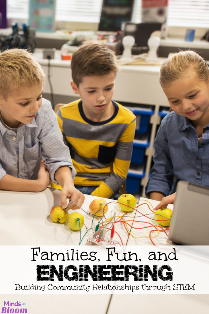 Have you ever heard of a Family Engineering Night? Our guest bloggers share the story of how they started an annual Family Engineering Night at their school and what a wild success it has become! Learn more about this fun opportunity to not only teach your students more about STEM but also their parents, siblings, and grandparents!