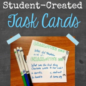 Kid-Created Task Cards!