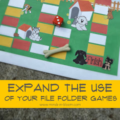 Expand the Use of Your File Folder Games