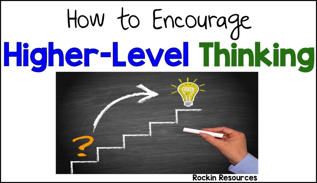 Higher-level thinking is an important skill, no matter which model you employ in your classroom. This post outlines a variety of ways in which you can encourage your students to reach higher-level thinking and provides concrete examples based on Bloom's Taxonomy, the Wheel of Reasoning, and the Depth of Knowledge.