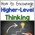 Higher level thinking in the classroom
