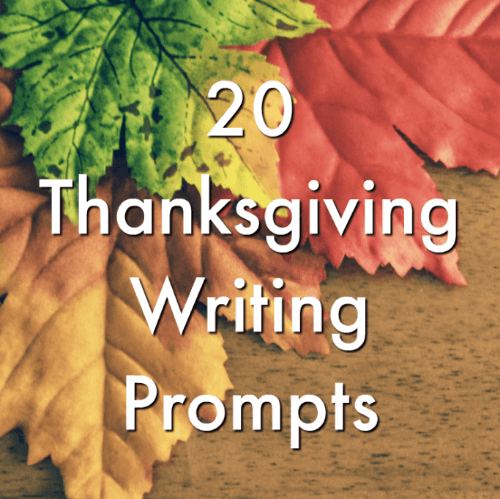 thanksgiving writing prompts minds in bloom