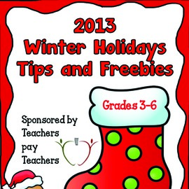 Free Resources for the Winter Holidays!