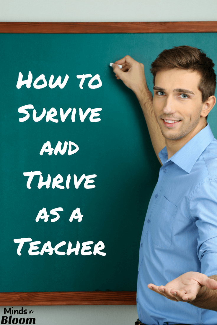 Teaching is a challenging field - there's no doubt about that. So, how can you survive and thrive as a teacher? This guest blog post gives several tips and tricks for helping you to enjoy your career and to help yourself survive in it!