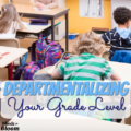 Many elementary classrooms are still self-contained, but some have made the switch to departmentalization. Departmentalizing your grade level is a great idea when you want your teachers to maximize instructional time in the subject area in which they are masters. Read this guest blogger's explanation of how it works at her school!