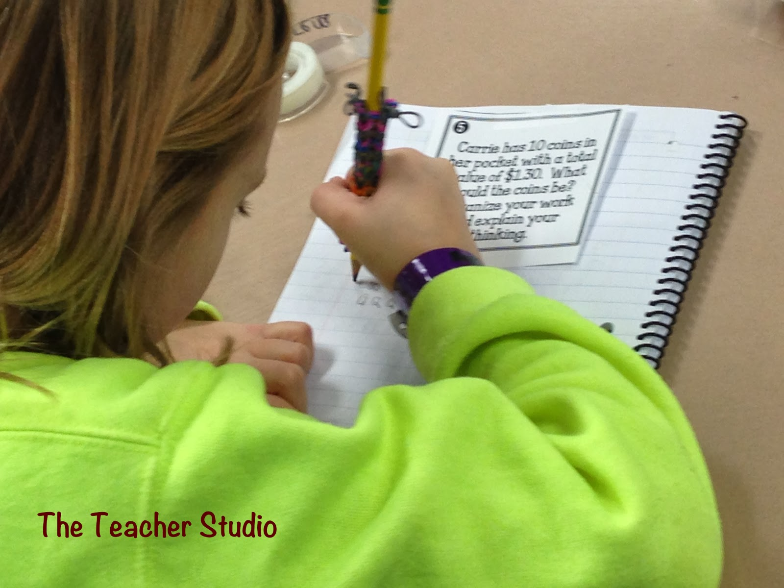 """By the time most students get to middle school, they've decided they """"aren't good at math."""" Our guest blogger shares her advice on teaching perseverance in math and not letting students tell themselves they aren't good at it!"""