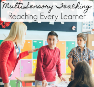 Many teachers learn about four types of learners in their pre-service teaching classes. However, our guest blogger shares in this post that there are actually 12 types of multi-sensory learners. Use this post on multi-sensory teaching to help you better reach all learners!