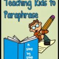 paraphrasing, step by step