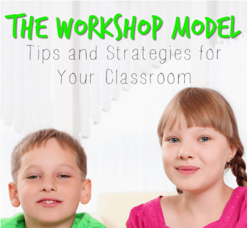 The Workshop Model Tips And Strategies For Your Classroom Minds