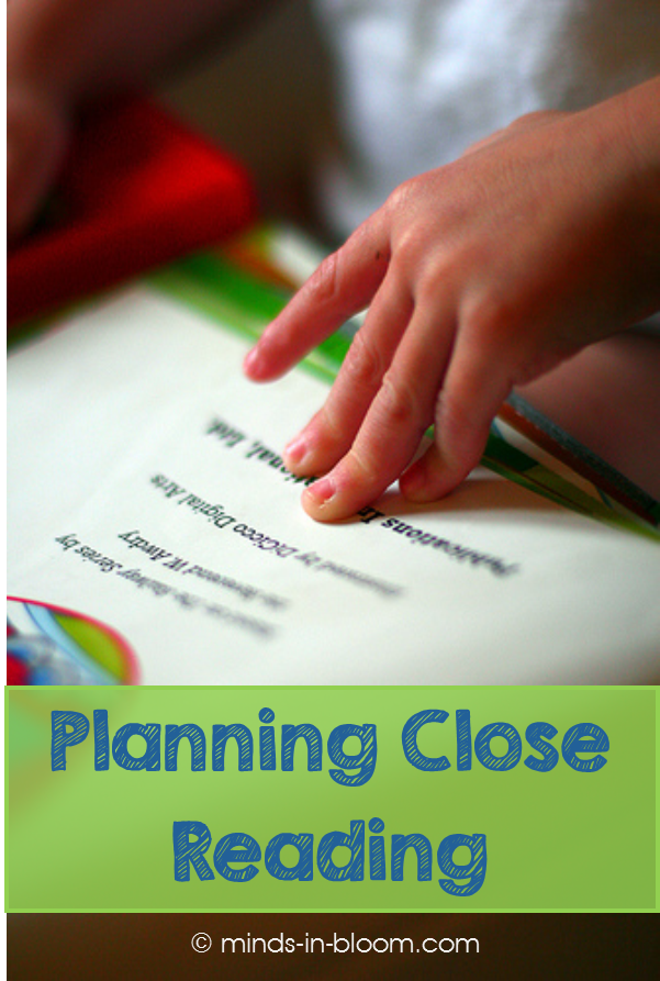 In order for close reading to really reach its full potential, you need to spend a considerable amount of time planning close reading. It's important that you take the time to consider the text you've chosen, what all it offers in terms of skills and comprehension, and what you'll focus on for each of your close reads. Our guest blogger walks readers through her steps for planning close reading. Check out the steps and grab her freebie for planning close reading for poetry!
