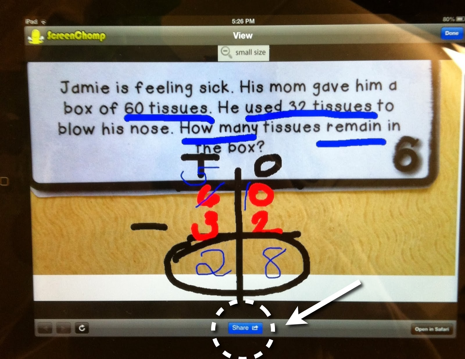 Integrating technology in the classroom is made easy with the app ScreenChomp! This post offers a tutorial on using ScreenChomp in a variety of ways.