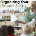 Organizing your classroom library doesn't need to be a pain. Our guest blogger shares exactly how she has her classroom library organized and includes pictures so that you can see it, too. Be sure to read this post to get all the scoop; we know it will be especially helpful to primary teachers!