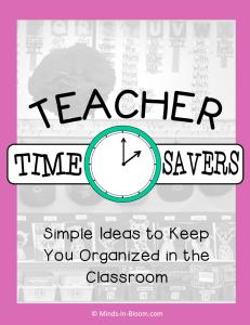 Teacher Time Savers