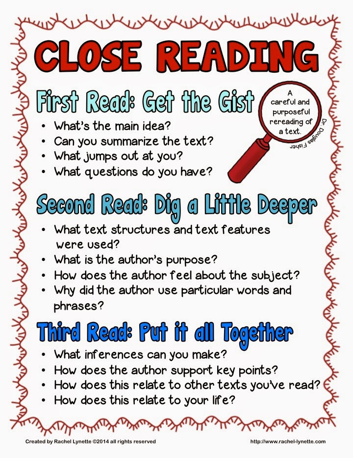 Close reading is an instructional technique that captured my attention, despite my reputation for my task cards. I share my process for creating my new close reading passages in this post, and I give all of the inside scoop on my new Close Reading Toolkit and what it includes. Read this post to grab a link to a freebie, in case you like to try it before you buy it!