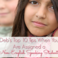Many teachers feel alarmed when a non-English speaking student is assigned to their classrooms. However, there are ways that you can go about supporting this student and making him or her feel welcome. Our guest blogger, a teacher of English language learners (ELLs), shares her top 10 tips for working with these students and helping them start to learn the English language. Get all 10 tips, plus a free resource, inside this blog post!