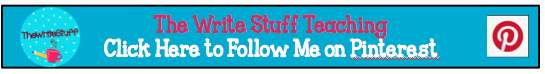 The Write Stuff Teaching on Pinterest