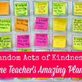 Our guest blogger created an incredible classroom management tool in her classroom: random acts of kindness! Read all about how she implemented this strategy in her classroom and how random acts of kindness have impacted the environment of her classroom.
