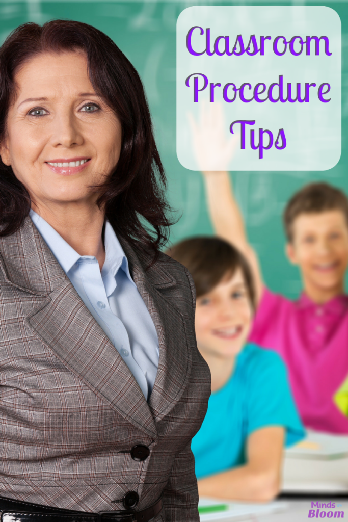 Classroom Procedure Tips
